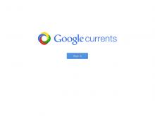 Google Currents サインアップ
