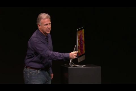 新型iMac 実機