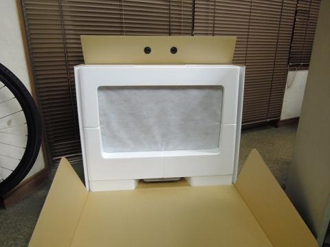 27インチiMac外箱開封