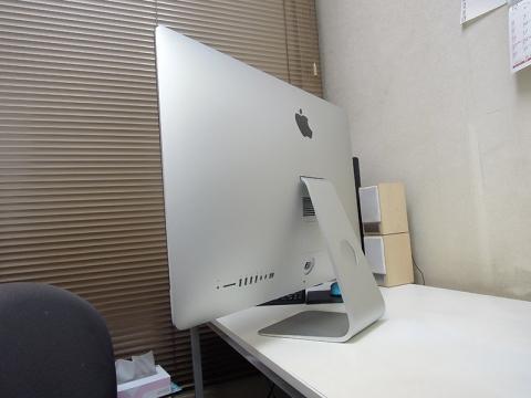27インチiMac側面