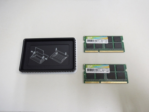 27インチiMacメモリー8GBx2