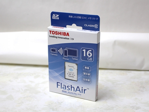 東芝 FlashAir W-02 SD-WC016G [16GB]