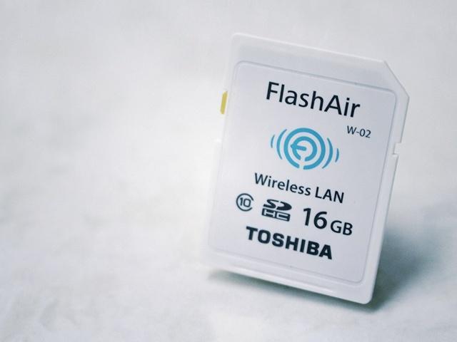 WiFi SDカードが便利すぎ!カメラで撮影してその場で写真を共有できる!