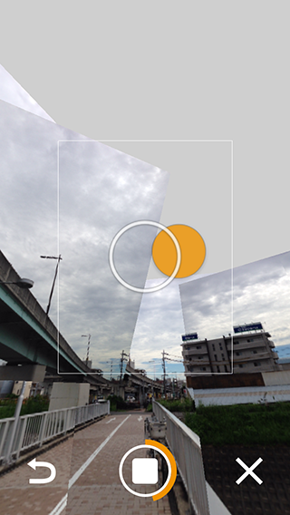 Photo Sphere Camera パノラマ写真の撮影方法03