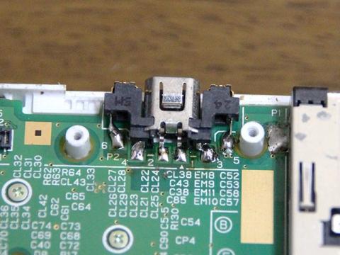 3DSの電源コネクタを交換