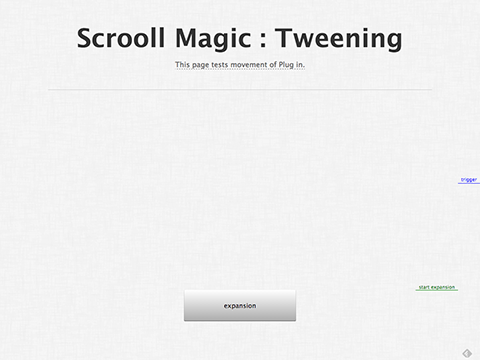 Scrooll Magic : Tweening