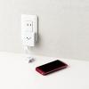 巻き取り式Micro-USBケーブル付スマートフォン用AC充電器