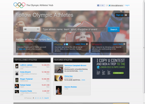 The Olympic Athletes' Hub