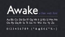 awake-free-web-font