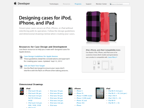 Designing Cases for iPod, iPhone, and iPad - Apple Developer