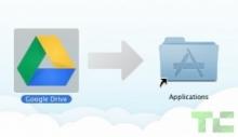 GoogleDrive OSX アプリ