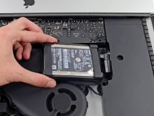 iMacの2.5インチハードディスク