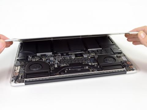 MacBook Pro Retinaディスプレイモデル 分解