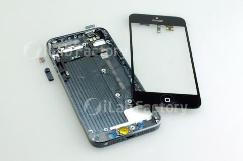 新型「iPhone5」パーツ