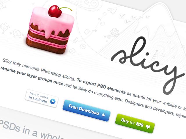Photoshopのレイヤーやグループ毎に自動でスライスするアプリ「Slicy」