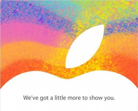 Appleイベント招待状10月23日