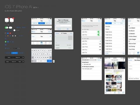 iOS 7 iPhone AI Download