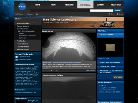 NASA - Mars Science Laboratory, the Next Mars Rover