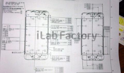 新型「iPhone5」の設計図