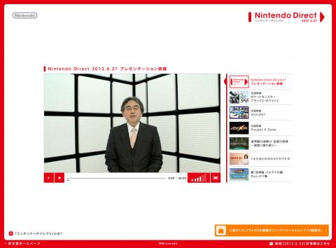 Nintendo Direct 2012.4.21|Nintendo
