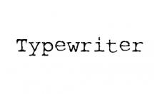rough-typewriter