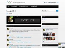 ウサイン・ボルト on the Olympic Athletes' Hub