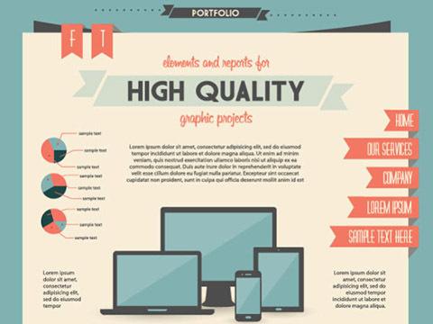 Economy Infographics design elements vector graphic 01