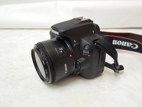 Canon EOS Kiss X7と EF50mm F1.8 II