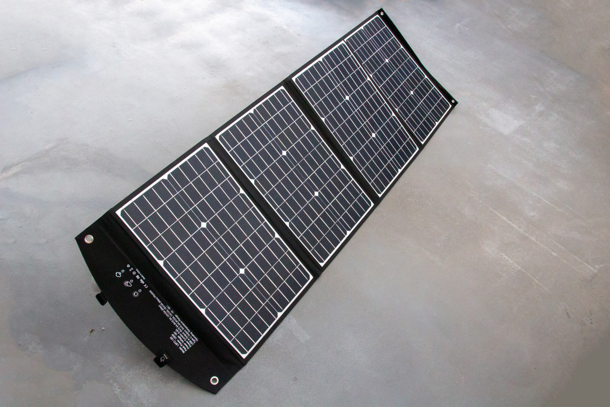 ELECAENTA 120Wソーラーパネル