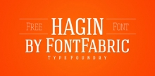 Hagin Serif by Miroslav Bekyarov