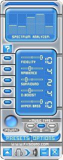 AquaDFX - DFX Audio Enhance skin