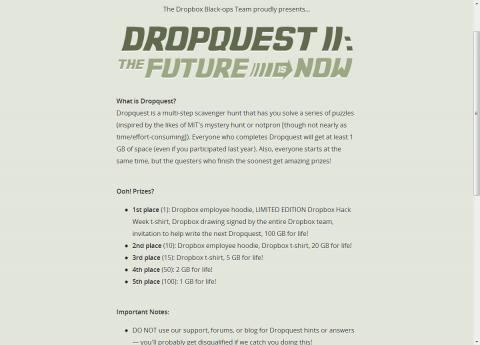 Dropquest 2012