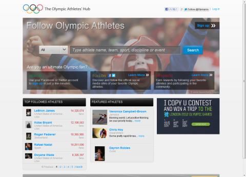 The Olympic Athletes' Hub
