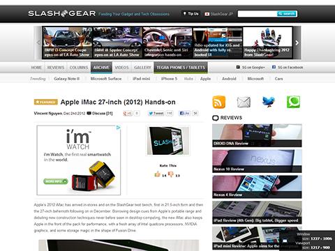 Apple iMac 27-inch (2012) Hands-on - SlashGear