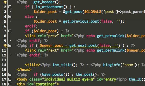 Rictyフォント表示例 NetBeans