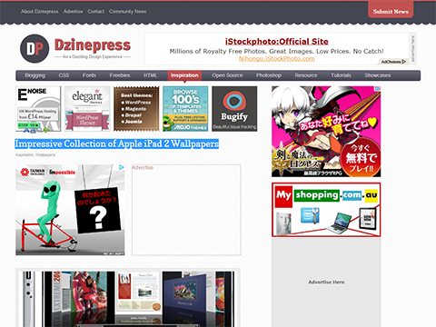 Impressive Collection of Apple iPad 2 Wallpapers - Dzinepress