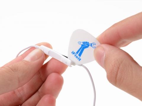 EarPods分解 音量スイッチ