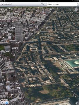 3Dと2D表示の境界