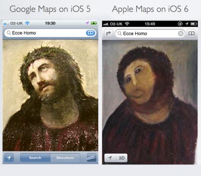iOS6マップの評価