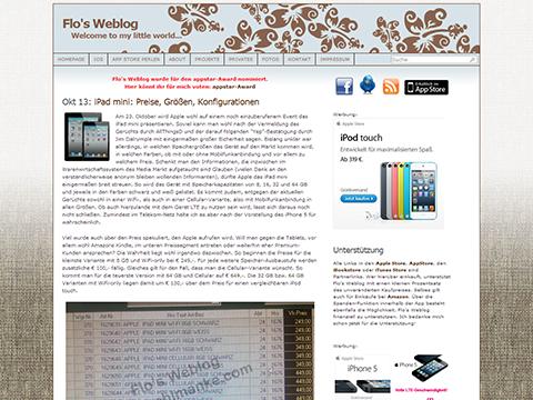 iPad mini- Preise - Flo's Weblog