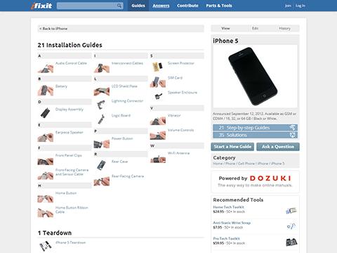 iPhone 5 Repair Manual - iFixit