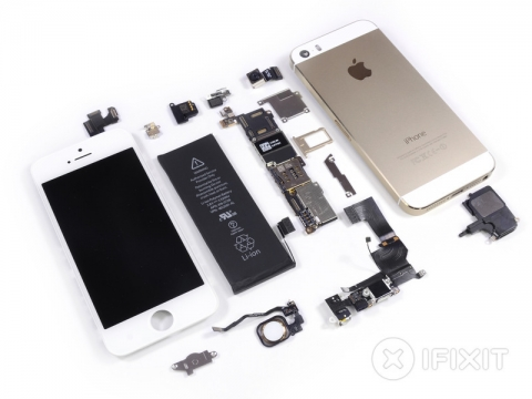 iPhone5s 分解完了