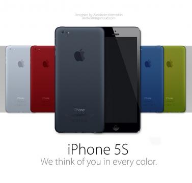 iPhoneカラーバリエーション モックアップ