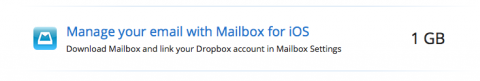Manage your emaol with Mailbox for iOS