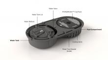 超小型燃料電池「PowerTrekk」 内部構造
